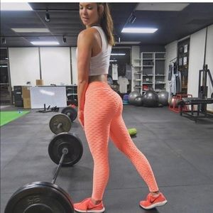 Anti-Cellulite High Waisted scrunch butt Leggings